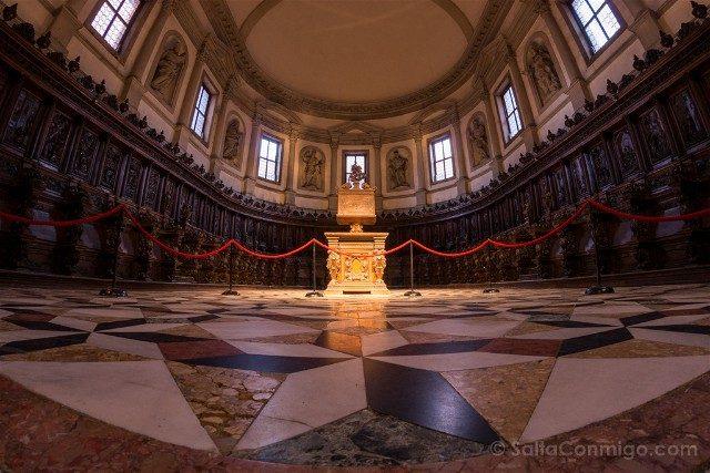 Iglesias de Venecia Basilica San Giorgio Maggiore Coro