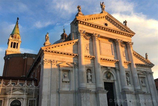 Iglesias de Venecia Basilica San Giorgio Maggiore Fachada