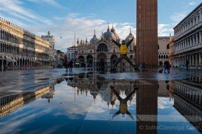 Iglesias de Venecia Basilica San Marco Salto