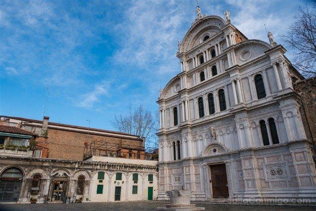 Iglesias de Venecia  San Zaccaria Fachada