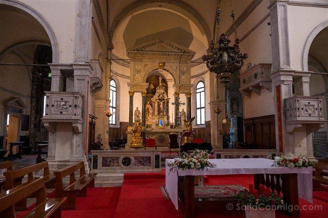 Iglesias de Venecia Santa Maria Formosa Interior