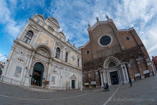 Iglesias de Venecia Basilica Santi Giovanni Paolo Fachada