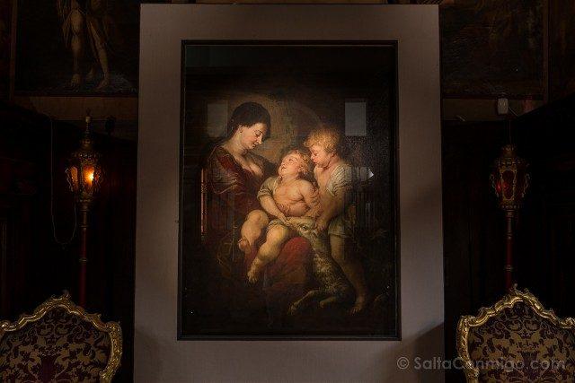 Iglesias de Venecia Santa Maria Giglio Rubens