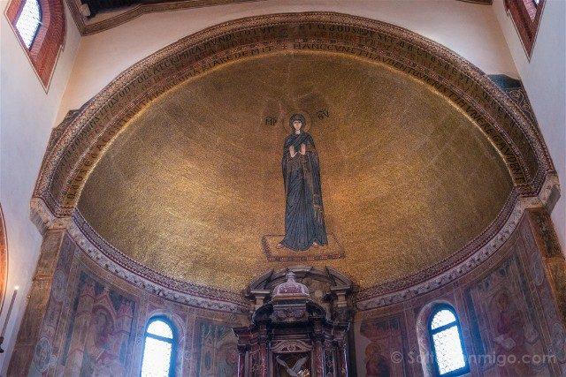 Iglesias de Venecia Santos Maria Donato Mosaico