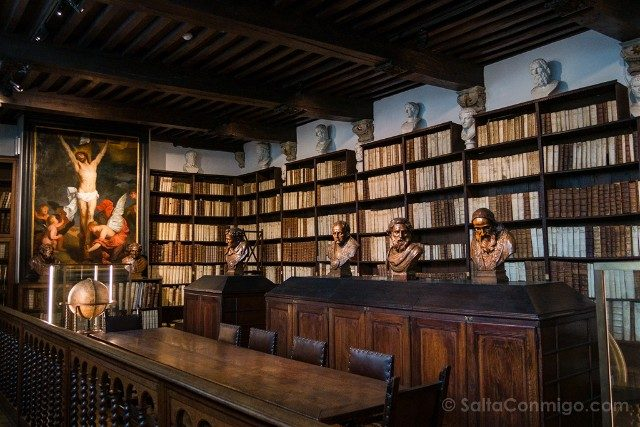 Museo Plantin-Moretus Amberes Biblioteca Grande