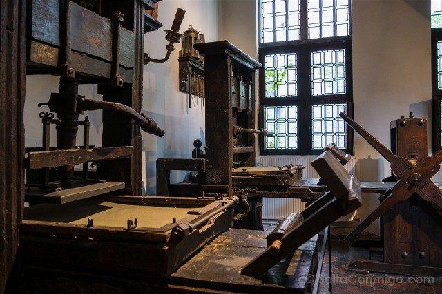 Museo Plantin-Moretus Amberes Imprentas Historicas