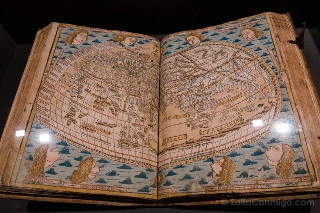 Museo Plantin-Moretus Amberes Ptolomeo Cosmographia 1486