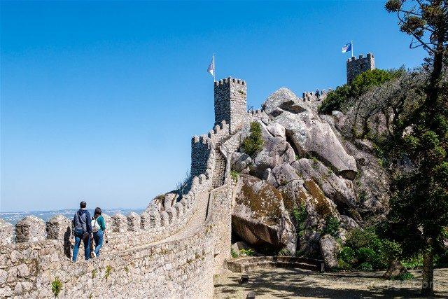 Que ver en Sintra Portugal Castillo Moros Pareja