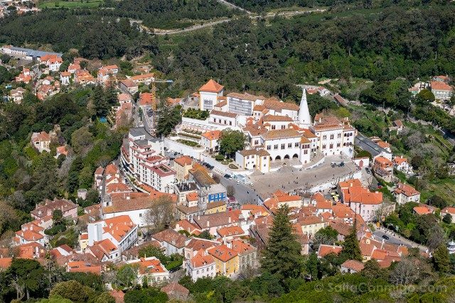 Que ver en Sintra Portugal Castillo Moros Vista Centro