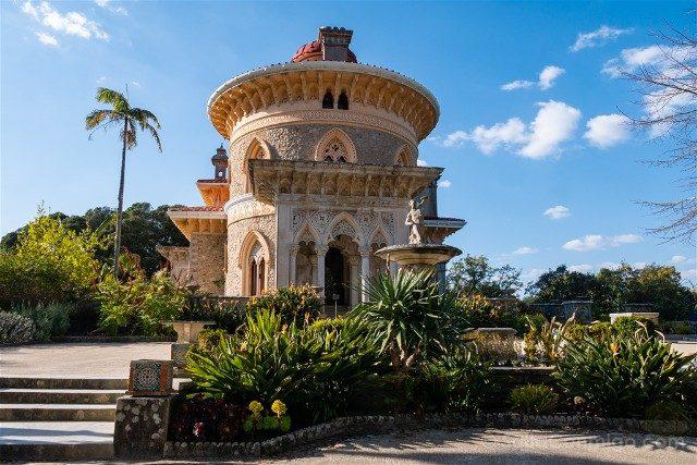 Que ver en Sintra Portugal Palacio Montserrate Edificio