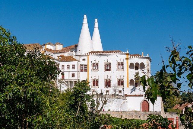 Que ver en Sintra Portugal Palacio Real Chimeneas