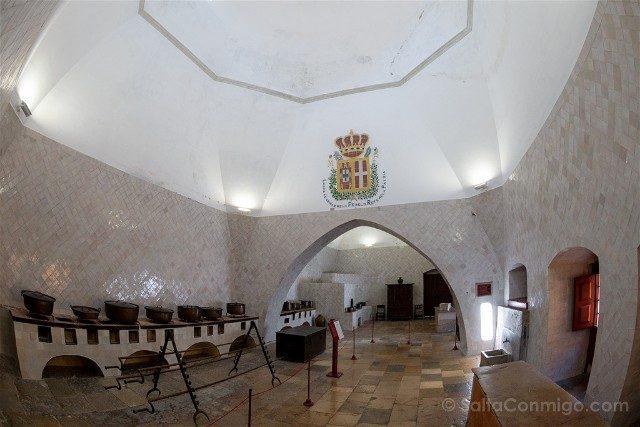 Que ver en Sintra Portugal Palacio Real Cocina