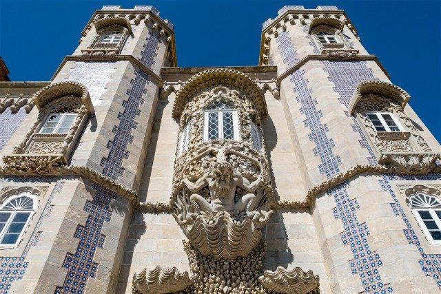 Que ver en Sintra Portugal Palacio da Pena Poseidon