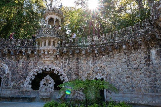 Que ver en Sintra Portugal Quinta da Regaleira Fuente