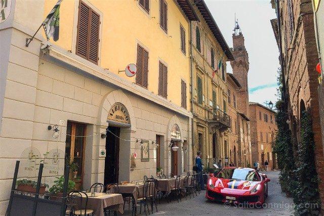 Ruta por la Toscana Buonconvento Ferrari