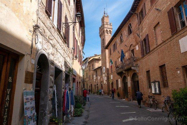 Ruta por la Toscana Buonconvento
