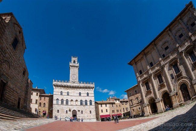 Ruta por la Toscana Montepulciano Plaza Torre