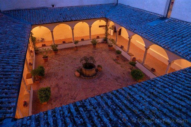 Ruta por la Toscana Pienza Hotel Relais Chiostro