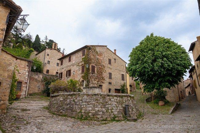 Ruta por la Toscana Rocca d'Orcia Plaza