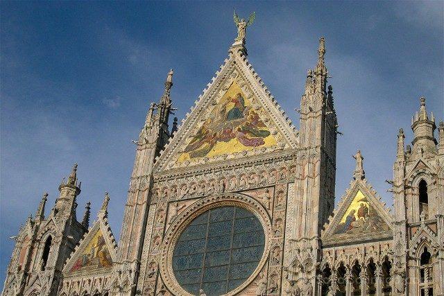 Que ver en la Toscana Siena Catedral Fachada
