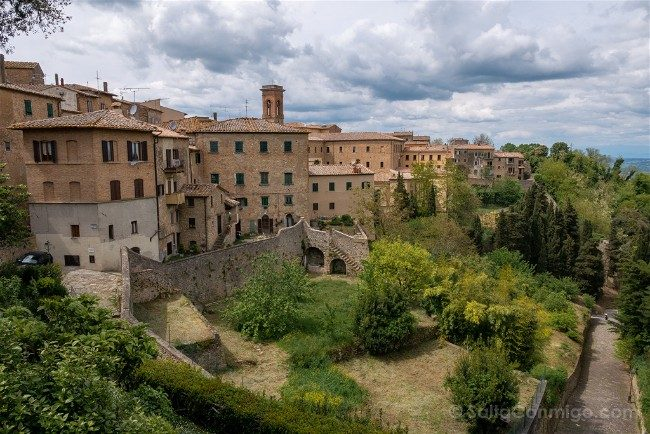 Ruta por la Toscana Volterra Panorama