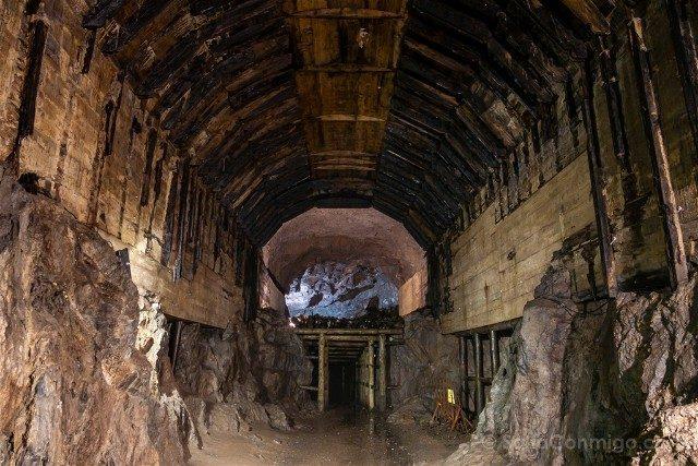 Tuneles Nazi Polonia Complejo Osowka Camara