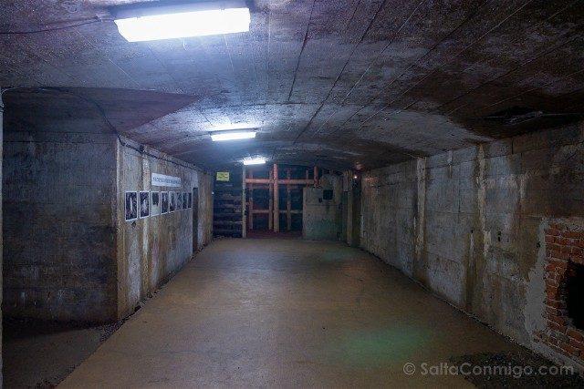 Tuneles Nazi Polonia Complejo Osowka Sala
