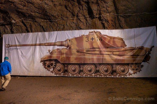 Tuneles Nazi Polonia Complejo Osowka Tanque Tiger