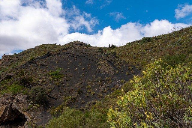 Caldera de Bandama Pared Roca Negra