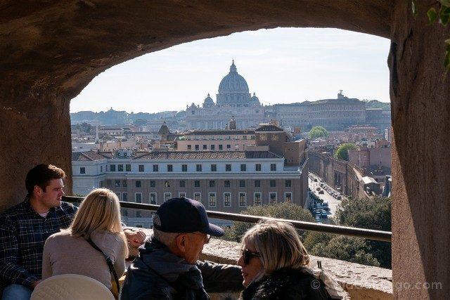 Castillo Sant'Angelo Roma Bar Vista