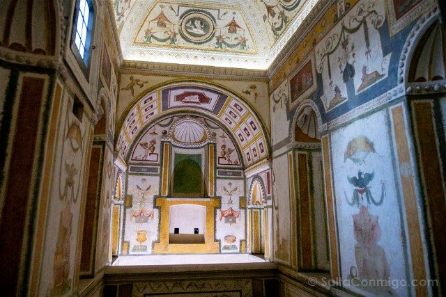 Castillo Sant'Angelo Roma Castello Segreto Stufetta Clemente VII