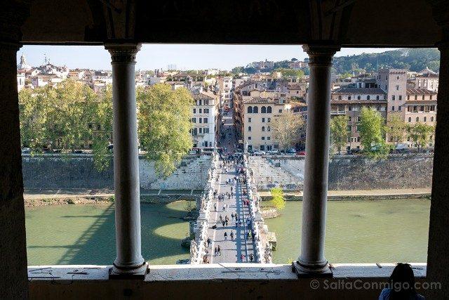 Castillo Sant'Angelo Roma Logia Julio II