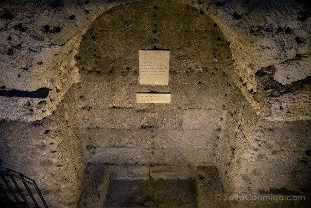 Castillo Sant'Angelo Roma Sala Urna