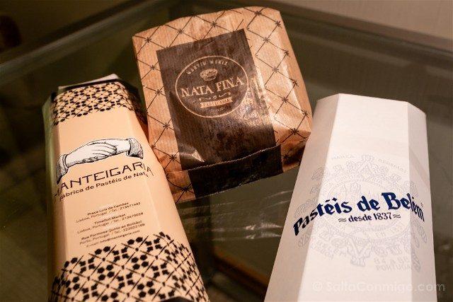 Comer en Lisboa Pasteis de Nata Cata