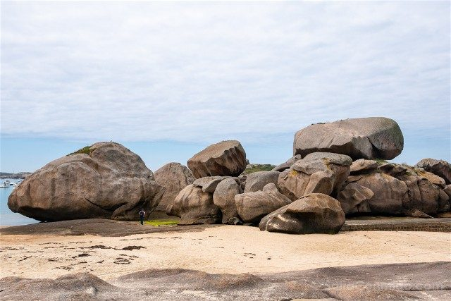 Costa de Granito Rosa Bretana Tregastel Coz Pors Playa