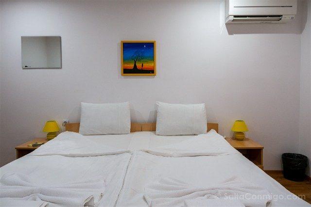 Dormir en Veliko Tarnovo Gile Guest House Habitacion