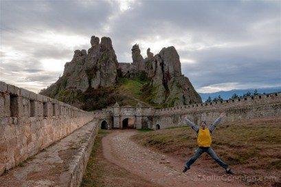Fortaleza de Belogradchik Bulgaria Foto Clasica Salto