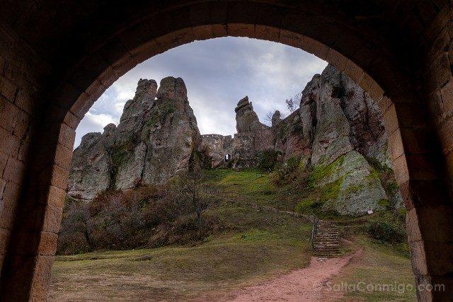 Fortaleza de Belogradchik Bulgaria Puerta Romana