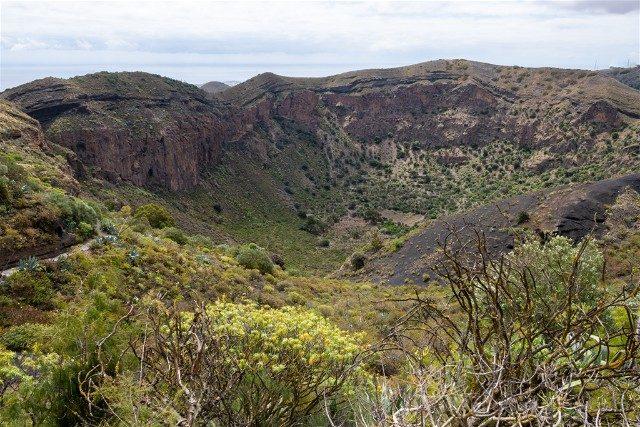 Pico de Bandama Vista Caldera