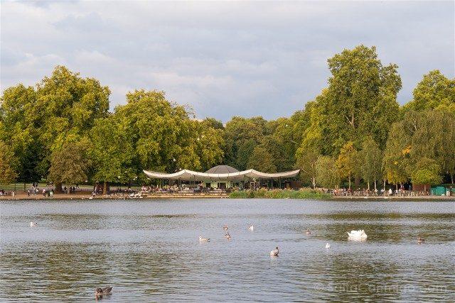 Que Ver en Londres en 3 Dias Hyde Park Lago