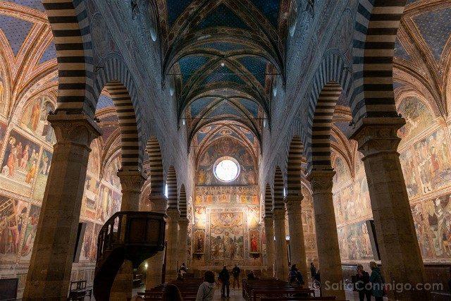 Que Ver en San Gimignano Colegiata Interior