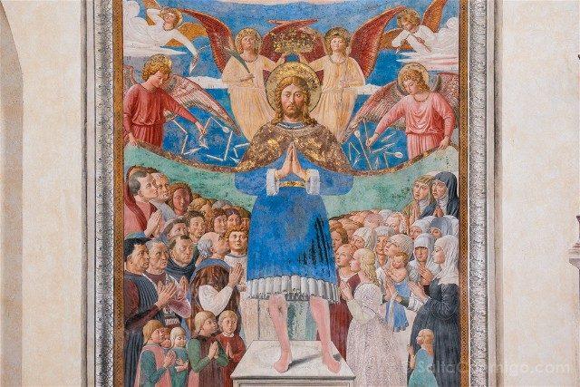Que Ver en San Gimignano Iglesia San Agustin Sebastian