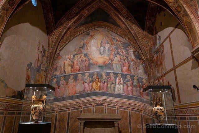 Que Ver en San Gimignano Iglesia San Lorenzo Fresco