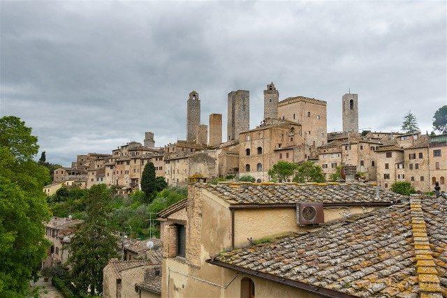 Que Ver en San Gimignano Museo Raffaele de Grada Ventana Vista