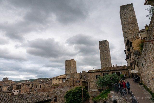 Que Ver en San Gimignano Via Innocenti Vista