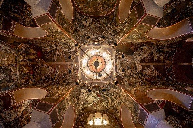 Que Ver en Veliko Tarnovo Fortaleza Tsarevets Catedral Ascension Frescos