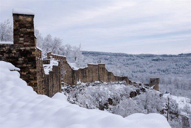 Que Ver en Veliko Tarnovo Fortaleza Tsarevets Muralla