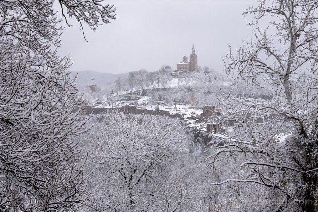 Que Ver en Veliko Tarnovo Fortaleza Tsarevets Panorama