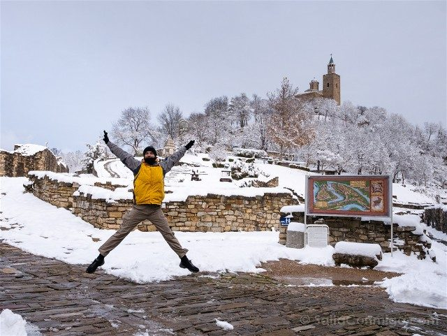 Que Ver en Veliko Tarnovo Fortaleza Tsarevets Salto