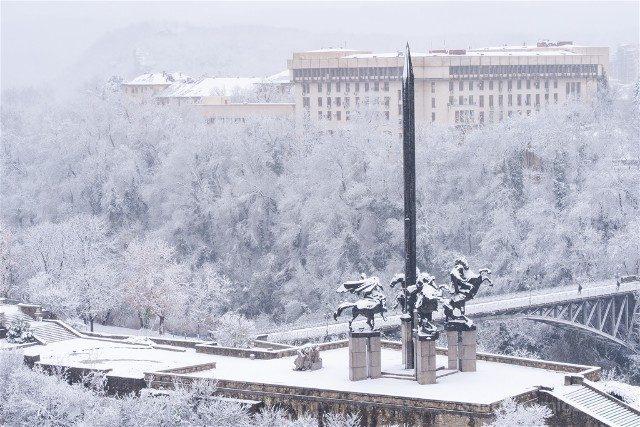 Que Ver en Veliko Tarnovo Monumento Asen